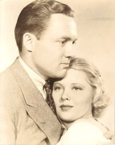 Mary Carlisle and Frank Albertson