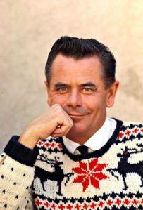 Sainte-Christine-d'Auvergne, Quebec-born Glenn Ford. Love his sweater