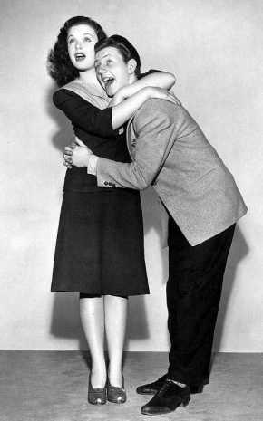 Gloria Jean and Donald O'Connor