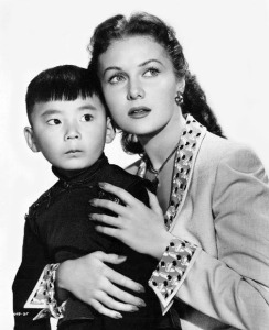 Danny Chang and Rhonda Fleming